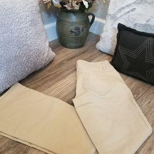 Wallflower bootcut khaki pants size 3 EUC